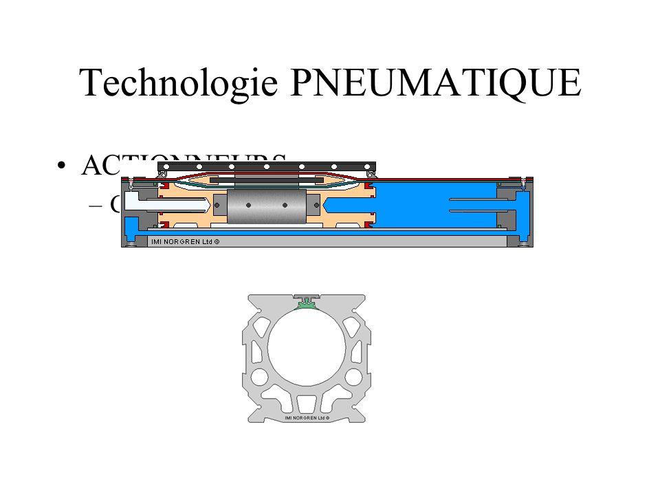Technologie PNEUMATIQUE ACTIONNEURS –Composants spéciaux