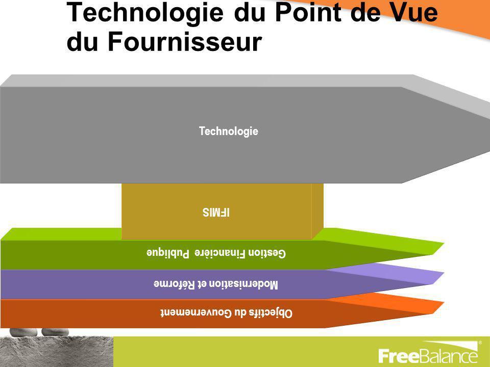 Realité La Réforme vient dabord Un IFMIS doit appuyer la modernisation PFM en cours La technologie habilite lIFMIS La technologie nest pas la modernisation du gouvernement