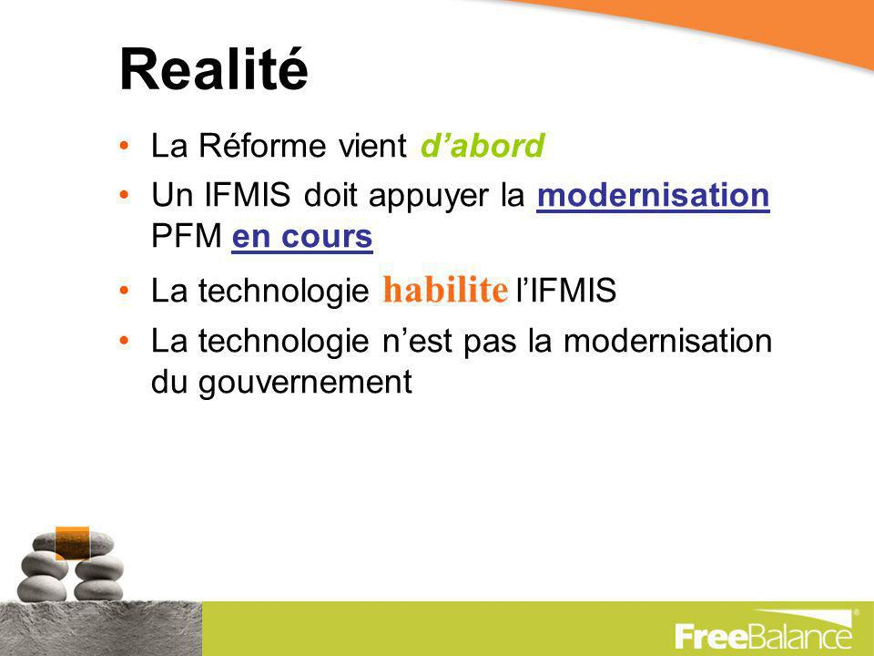 Le Gouvernement IFMIS de demain… Les quatre forces technologiques dinformatique et de marché daujourdhui qui définissent