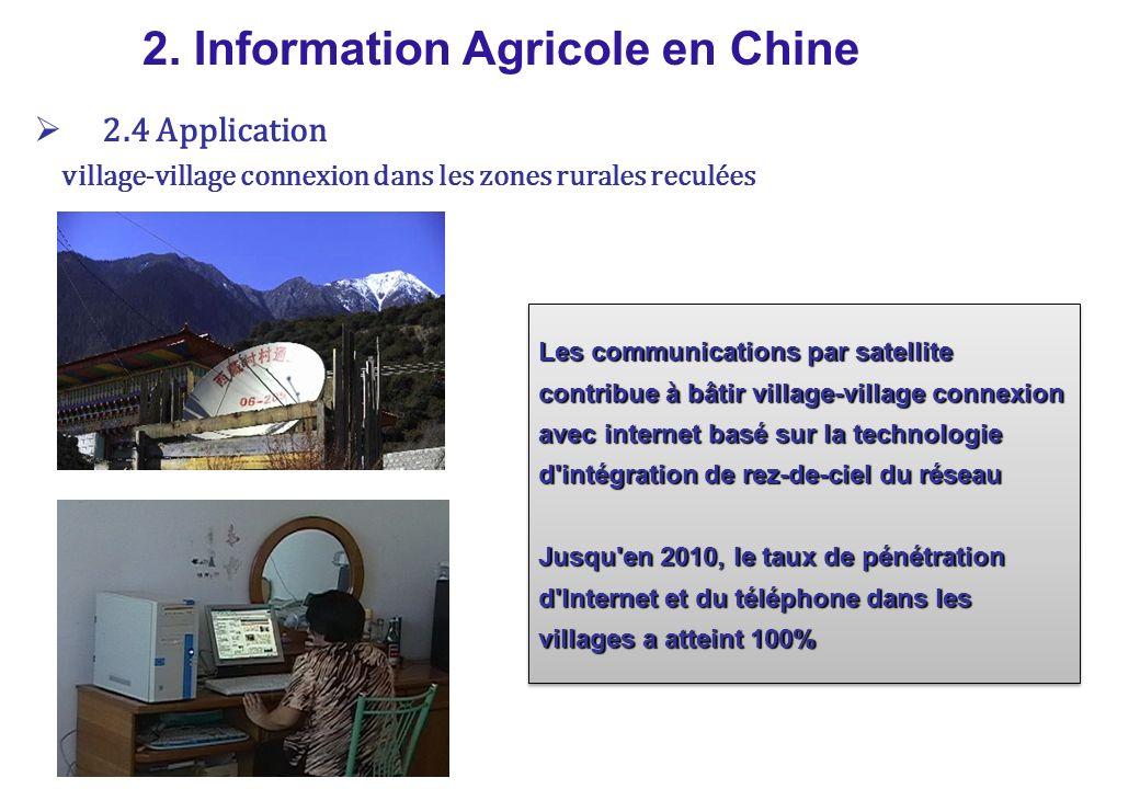 Système de réseau d approvisionnement en milieu rural et de l information demande 2.
