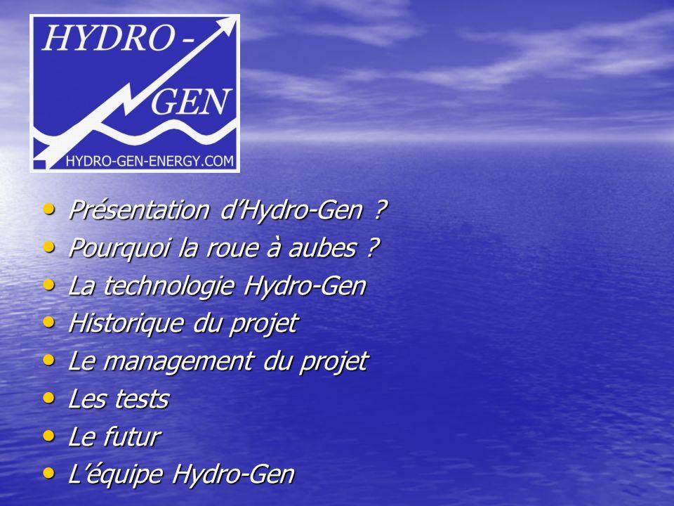 Présentation dHydro-Gen .