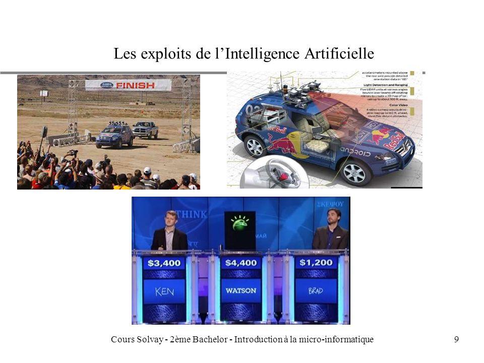 9 Les exploits de lIntelligence Artificielle