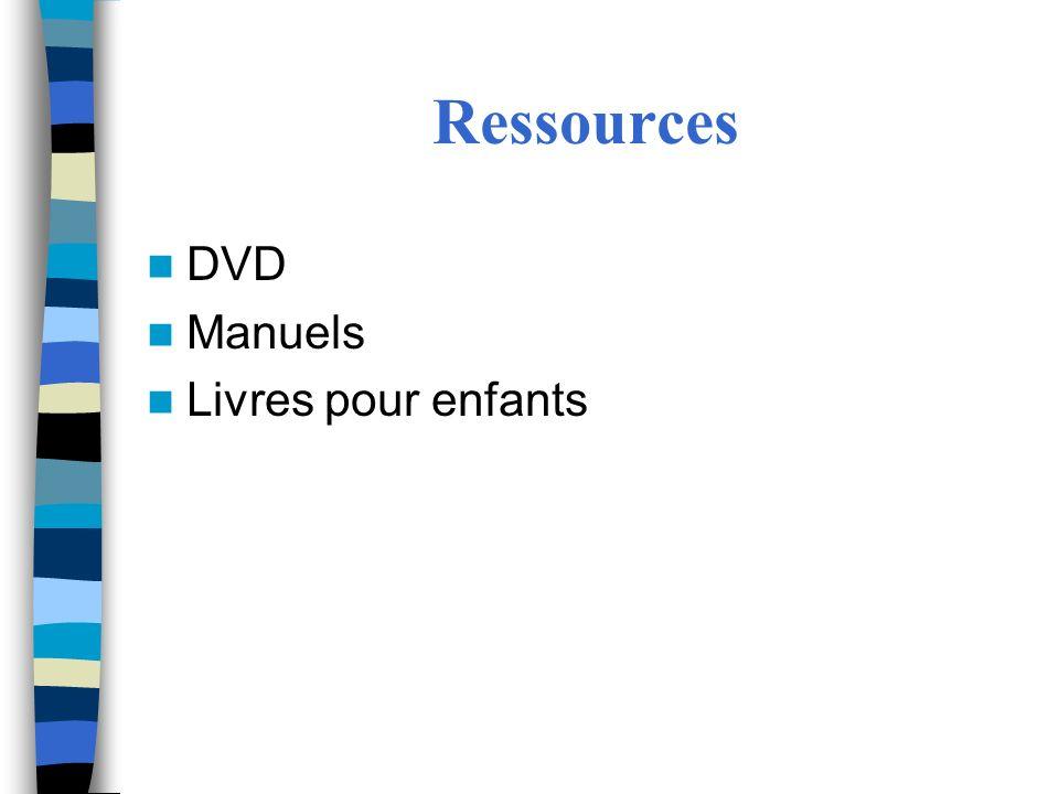 Ressources DVD Manuels Livres pour enfants