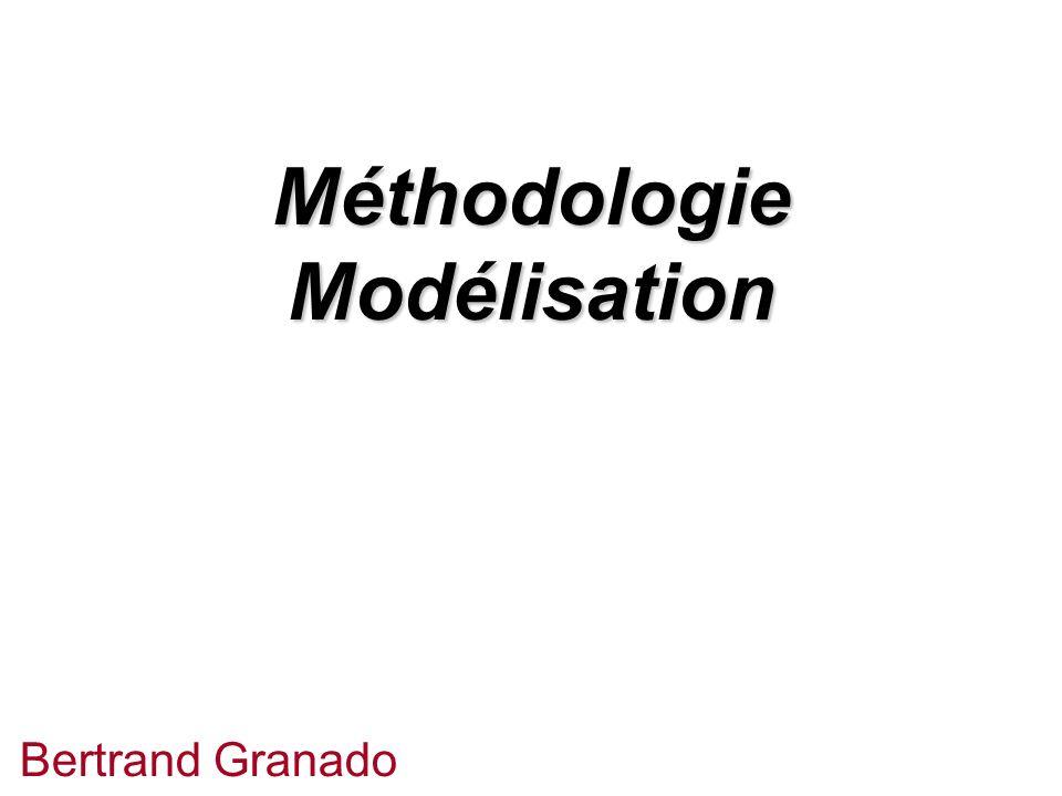 Méthodologie Modélisation Bertrand Granado
