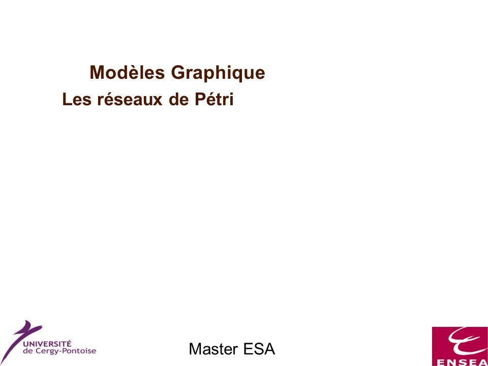 Master ESA Modèles Graphique Les réseaux de Pétri