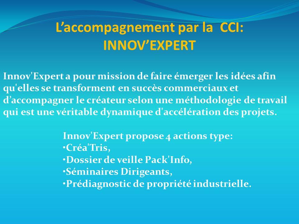 Innov Expert a pour mission de faire émerger les idées afin qu elles se transforment en succès commerciaux et daccompagner le créateur selon une méthodologie de travail qui est une véritable dynamique d accélération des projets.
