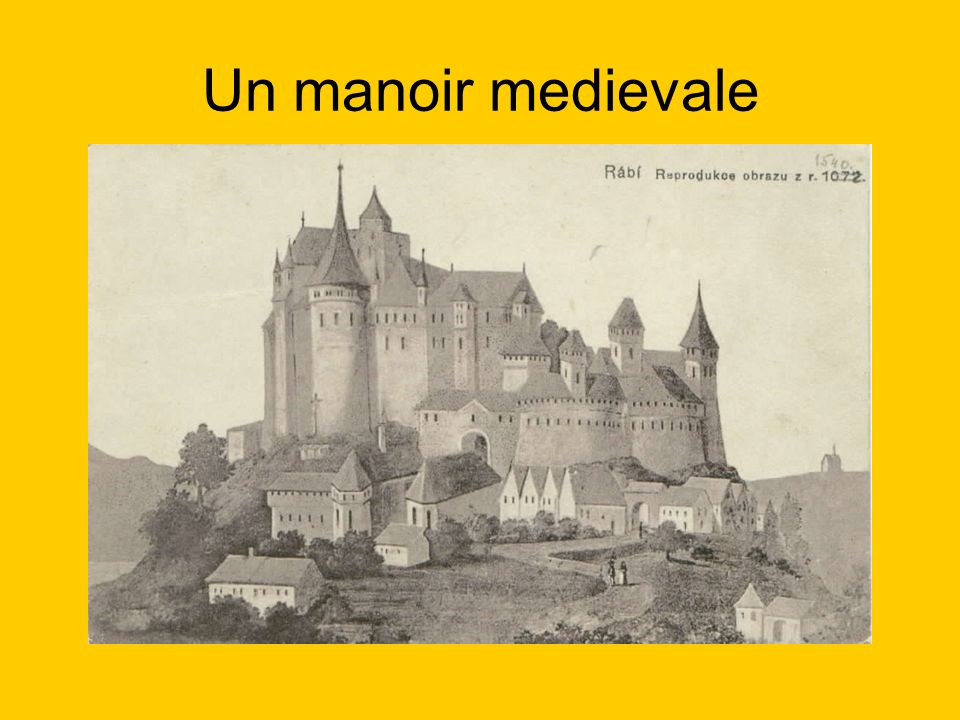 Un manoir medievale