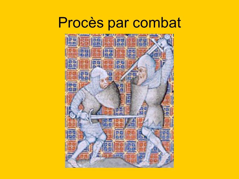 Procès par combat