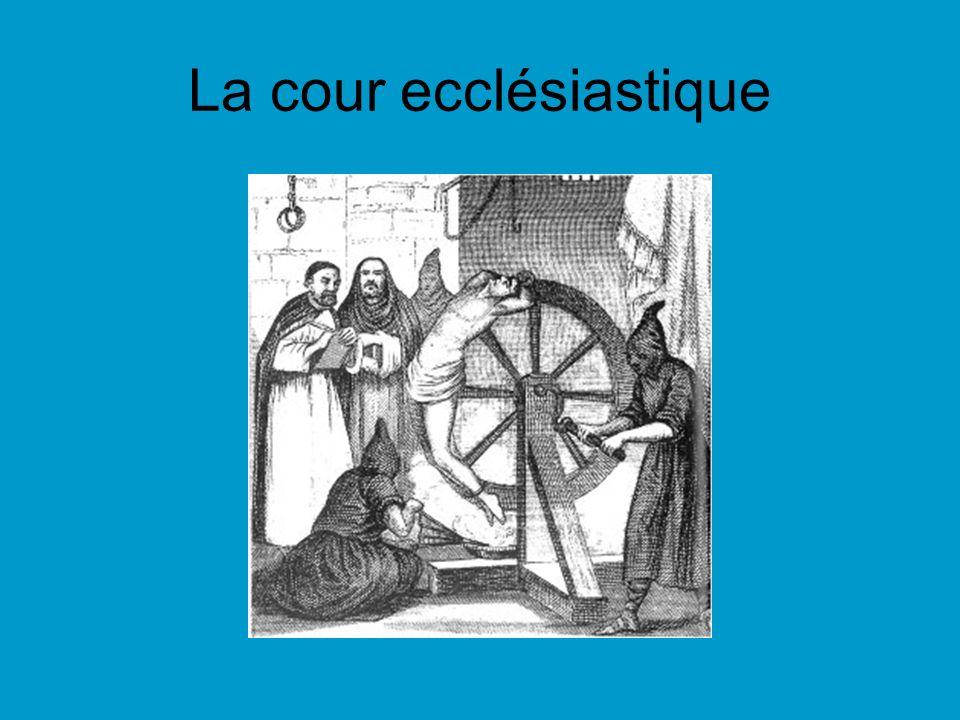 La cour ecclésiastique