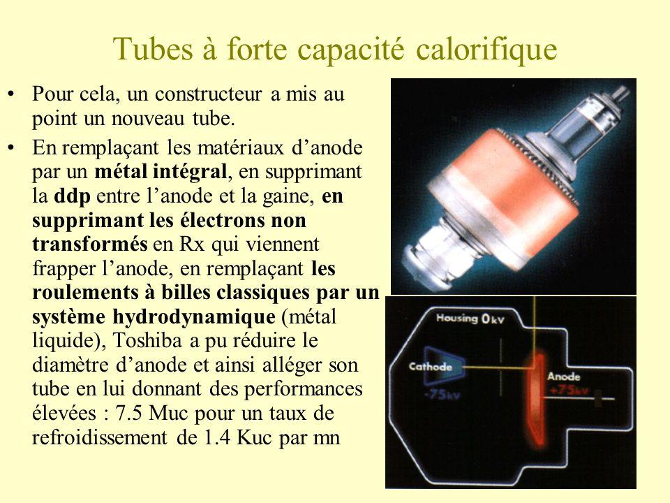 Tubes à forte capacité calorifique Pour cela, un constructeur a mis au point un nouveau tube.