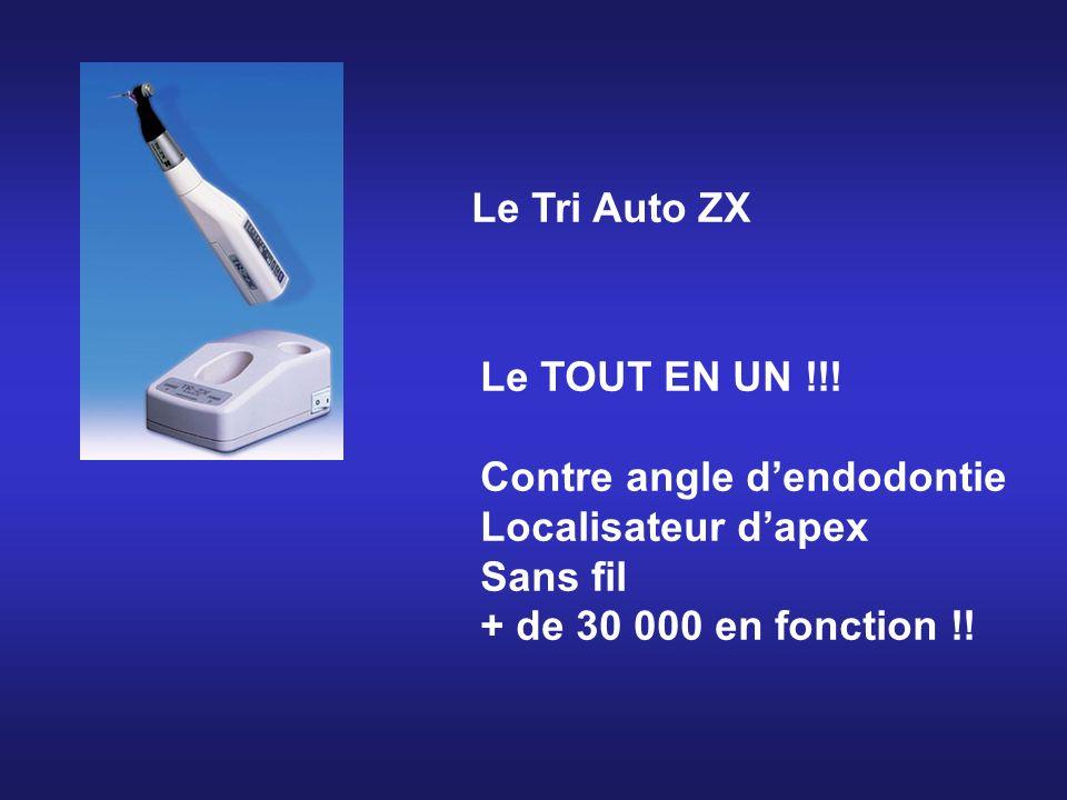 Le Tri Auto ZX Le TOUT EN UN !!! Contre angle dendodontie Localisateur dapex Sans fil + de 30 000 en fonction !!