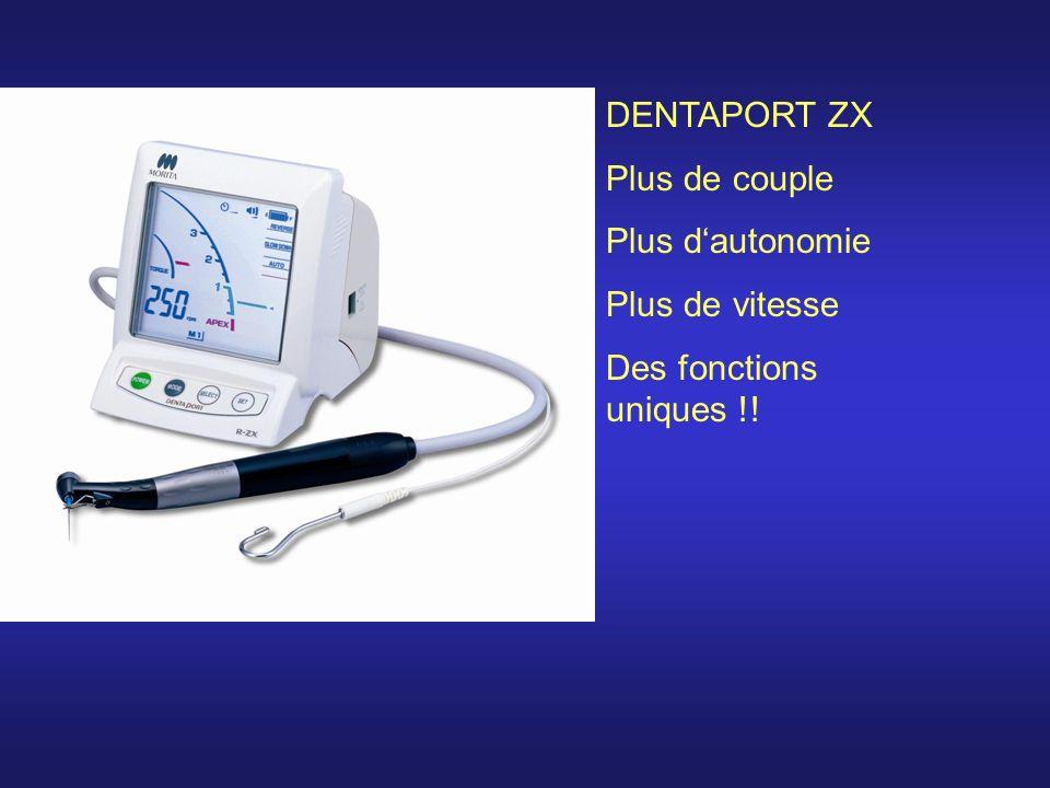 DENTAPORT ROOT ZX ModulDENTAPORT TRI AUTO ZX Modul DENTAPORT ZX Plus de couple Plus dautonomie Plus de vitesse Des fonctions uniques !!
