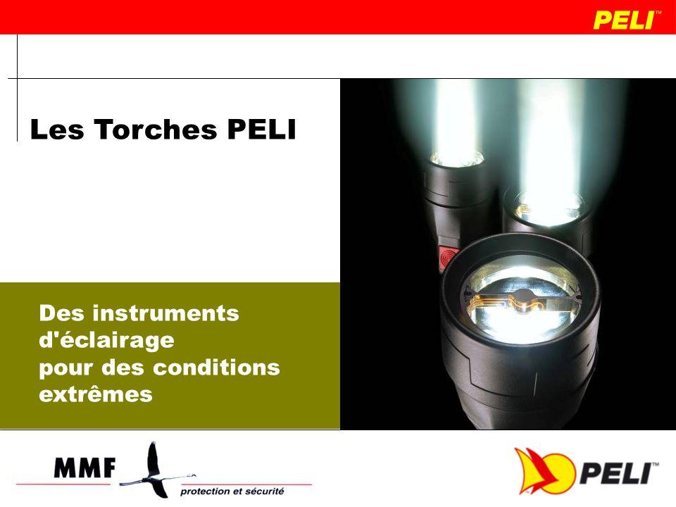1.Les Torches Professionnelles Peli 2.Les caractéristiques des Torches PELI 3.La Technologie RECOIL LED TM 4.Qu est qui fait la sécurité d une torche.