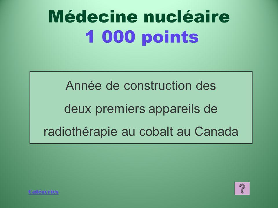 Catégories Quest-ce que le molybdène 99? Médecine nucléaire 800 points
