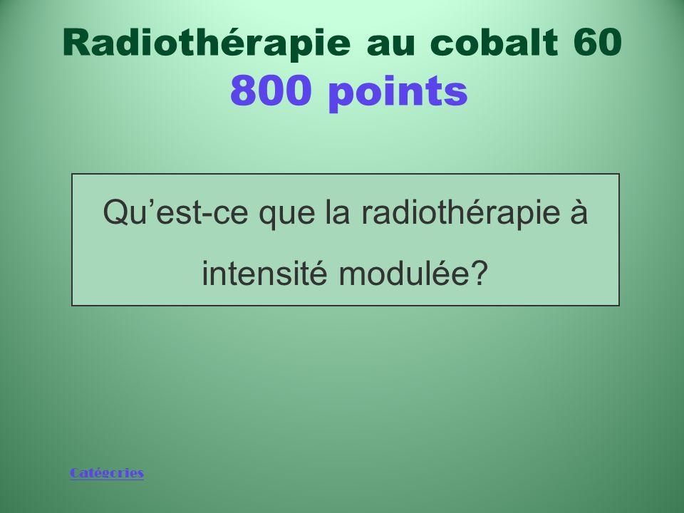 Catégories Nouvelle technologie qui a remplacé de nombreux appareils de radiothérapie au cobalt 60 en Amérique du Nord Radiothérapie au cobalt 60 800