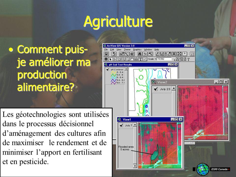 Agriculture Comment puis- je améliorer ma production alimentaire Comment puis- je améliorer ma production alimentaire.