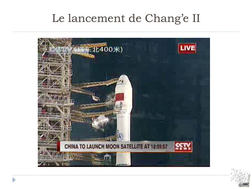 Le lancement de Change II