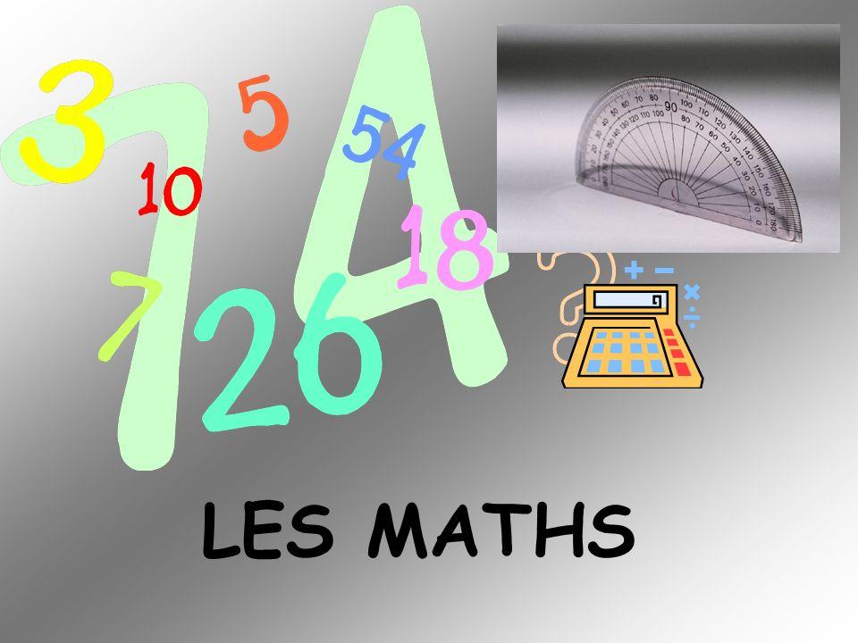 LE FRANÇAIS LALLEMAND LESPAGNOL LANGLAIS LES MATHS LA GÉOGRAPHIE LHISTOIRE LHISTOIRE-GÉO LES SCIENCES LINFORMATIQUE LA TECHNOLOGIE LE SPORT / LE.P.S.