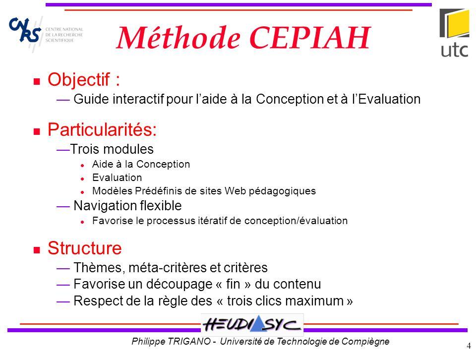 Philippe TRIGANO - Université de Technologie de Compiègne 5 Gestion de Projet analyse préalable, aspects juridiques...