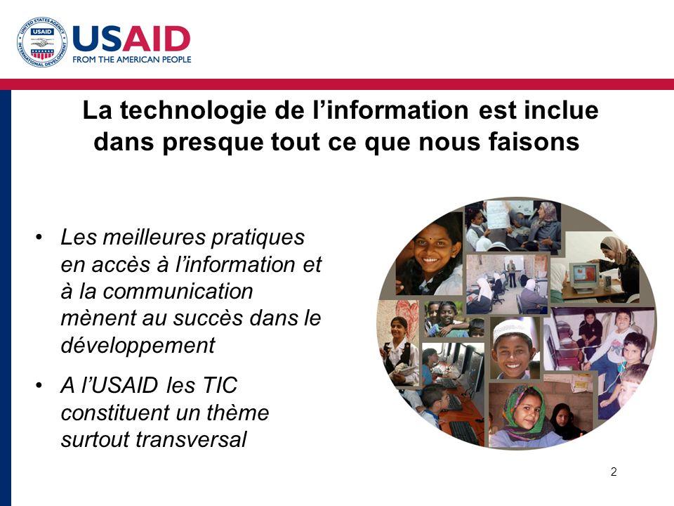 3 Éducation Croissance économique La bonne Gouvernance USAID/Maroc - Stratégie 2004-2009 Une société éduquée et démocratique, avec une économie compétitive sur le marché mondial
