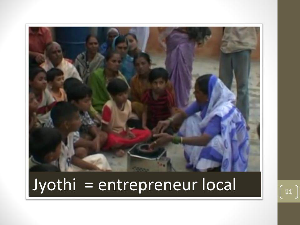 11 Jyothi = entrepreneur local