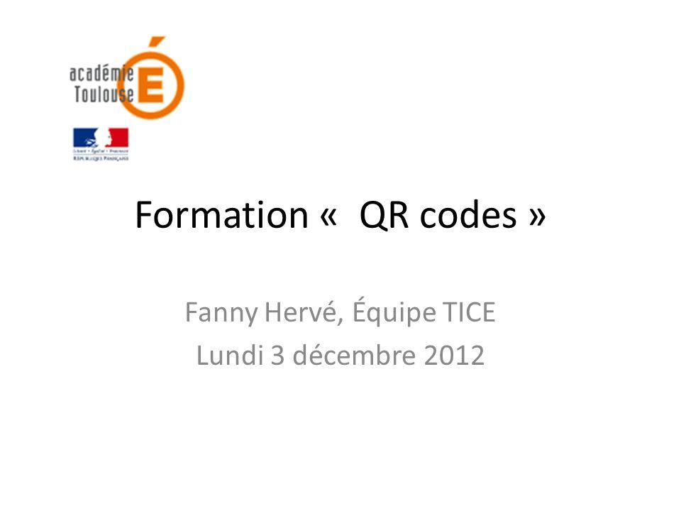 Utilisation des QR codes par les OBNL