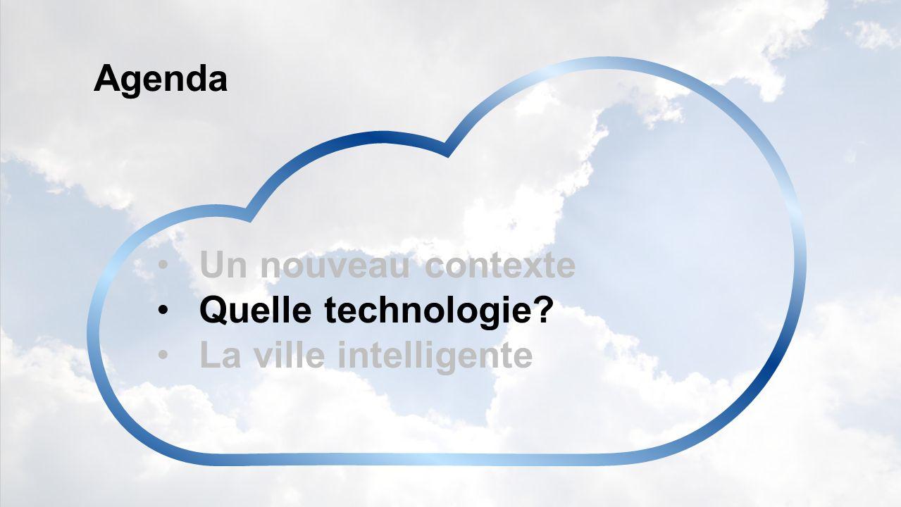 Agenda Un nouveau contexte Quelle technologie La ville intelligente
