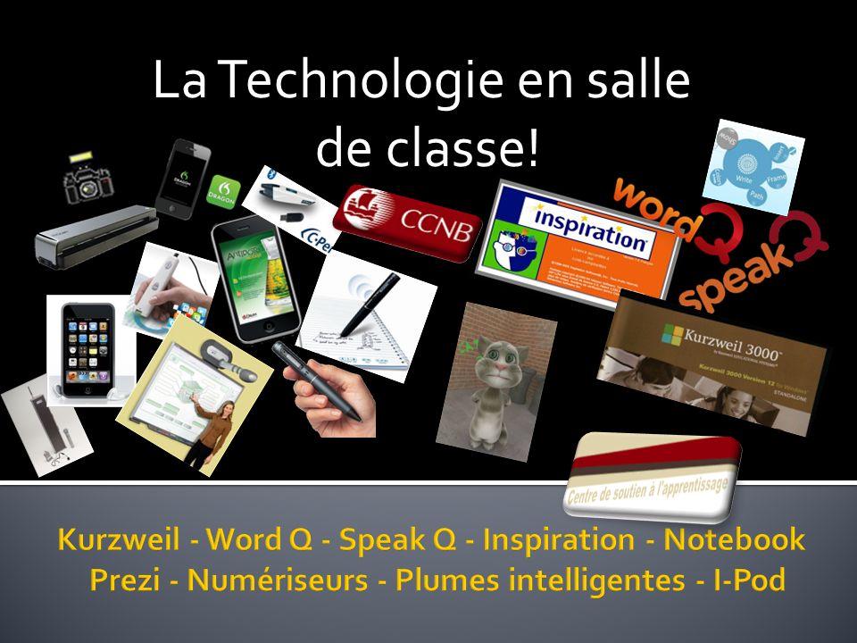 La Technologie en salle de classe!