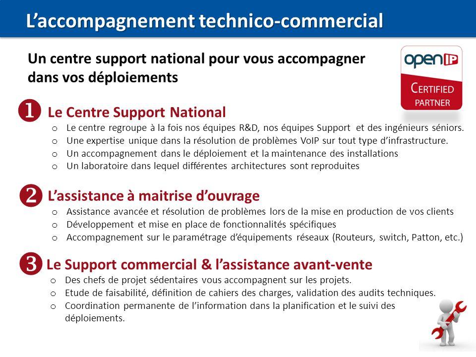 Le Centre Support National o Le centre regroupe à la fois nos équipes R&D, nos équipes Support et des ingénieurs séniors. o Une expertise unique dans