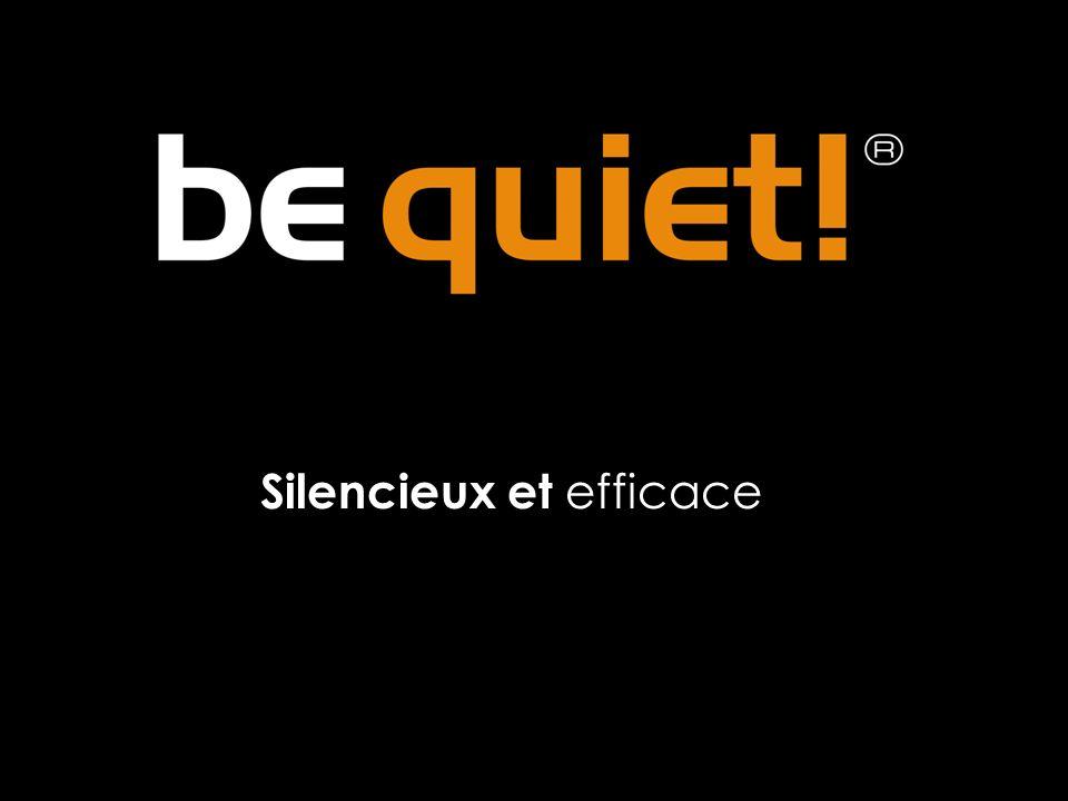 Silencieux et efficace