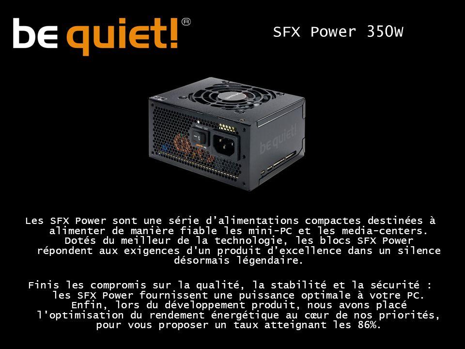 Les SFX Power sont une série dalimentations compactes destinées à alimenter de manière fiable les mini-PC et les media-centers.