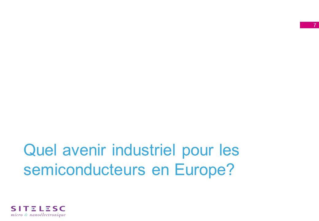 Quel avenir industriel pour les semiconducteurs en Europe 7
