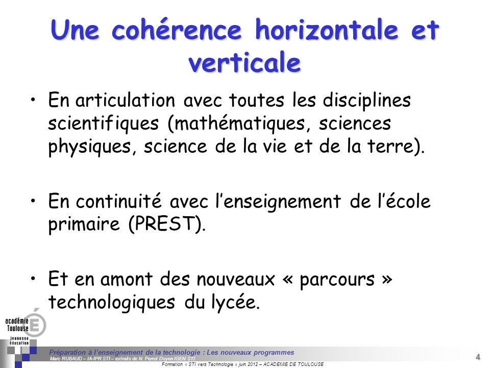 4 Séminaire « Définition de Produits » : méthodologie de définition dune pièce GREC INITIALES Formation « STI vers Technologie » juin 2012 – ACADEMIE