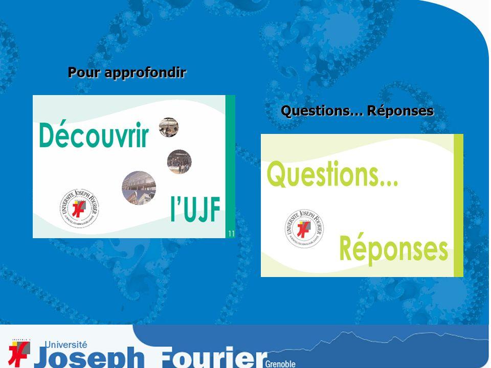 Pour plus de renseignements, visitez notre site à ladresse : http:www.ujf-grenoble.fr http:www.ujf-grenoble.fr http:www.ujf-grenoble.fr … … consultez tous les chapitres de cette CLE POUR LUNIVERSITE
