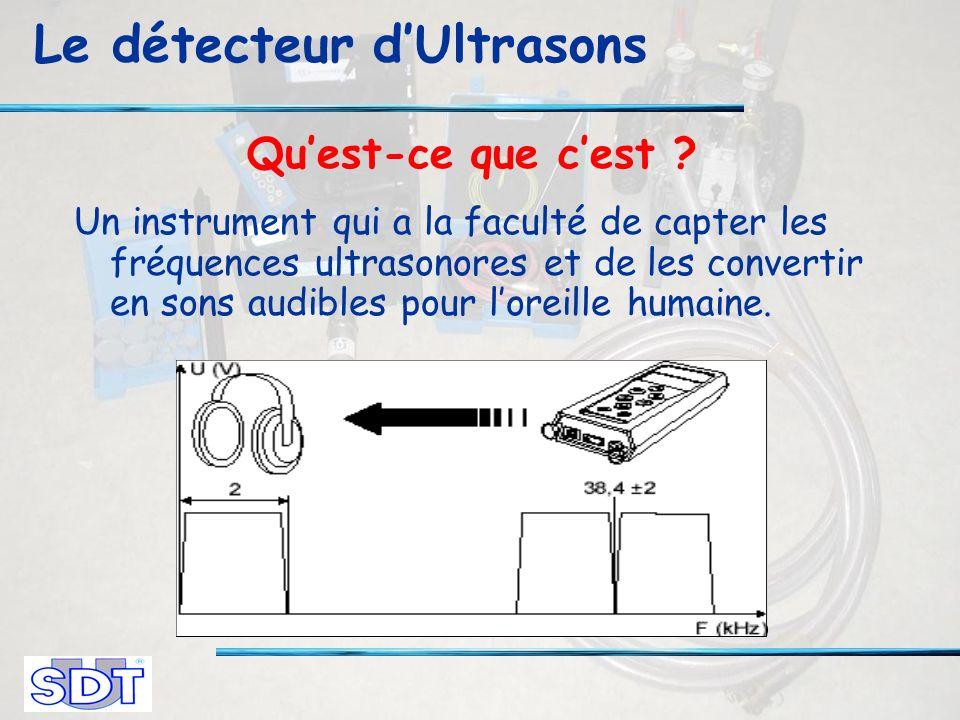 Le détecteur dUltrasons Quest-ce que cest .