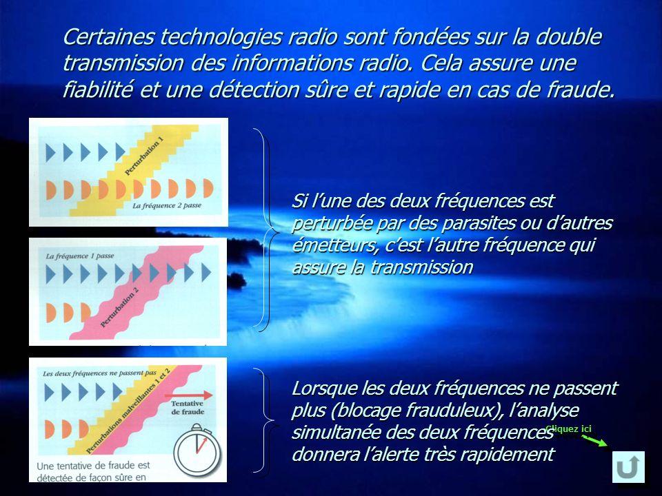 Les détecteurs sont munis dun émetteur tandis que la centrale et la sirène sont munis dun récepteur.