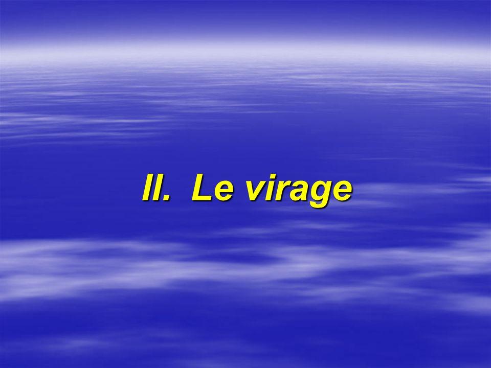 II.Le virage