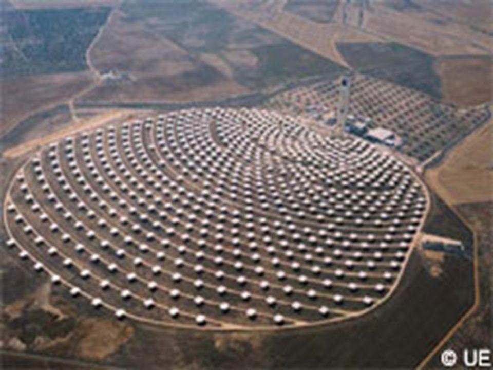 Tour solaire de Séville La première centrale de ce complexe vient dêtre inaugurée. Sa puissance installée est de 11 mégawatts (MW), soit un peu plus q