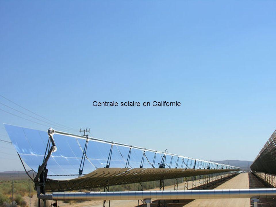 Dans 15 ans, lAllemagne pourrait importer du courant électrique produit dans le désert dAfrique du Nord à partir dénergie solaire thermique.