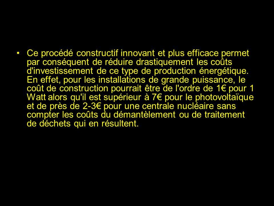 Projet Elioth Une équipe d'ingénieurs français a mis au point une nouvelle méthode de production d'électricité renouvelable basée sur le principe de l