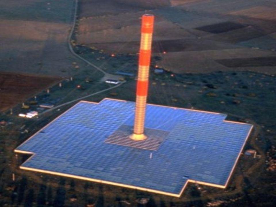 L évolution vers la montagne solaire La Montagne Solaire est une évolution du concept de cheminée solaire.