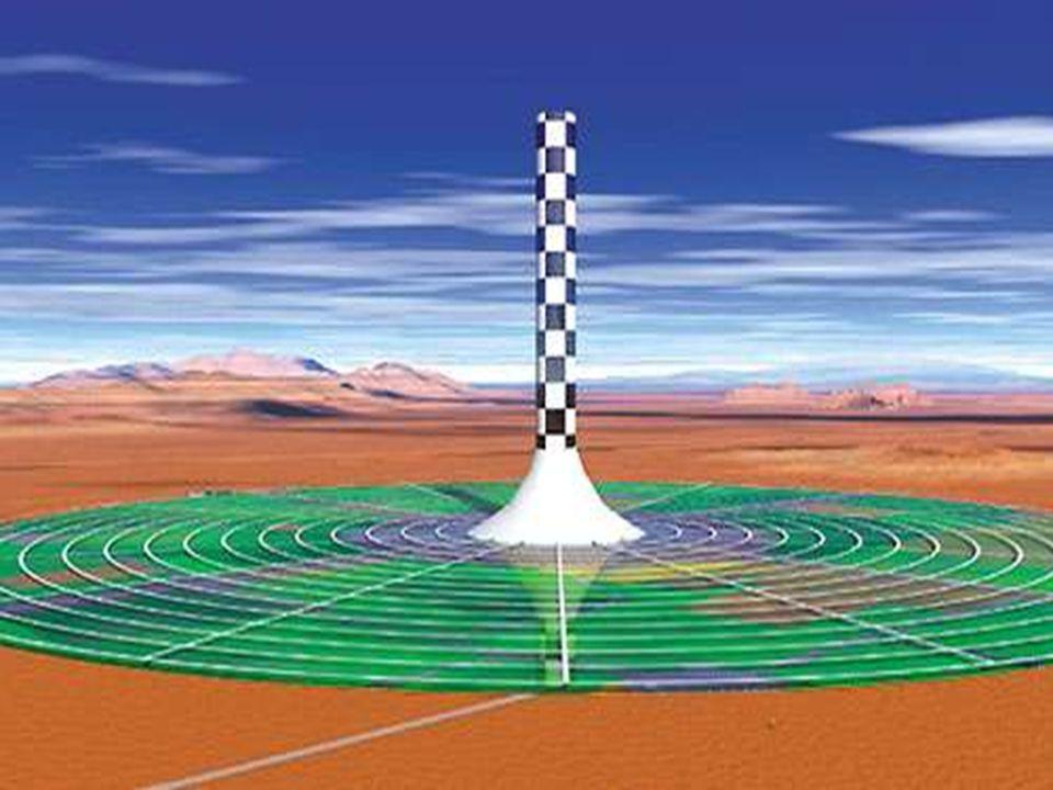 Autres projets Il existe actuellement deux projets de construction de tour solaire : une tour en forme de tuyère de Laval par la société française Sumatel en Savoie qui a déjà construit en 1997 une maquette de 6 m de haut et envisage de passer à 60 m ou plus, et la tour cylindrique de 500 m de haut citée ci- dessus.