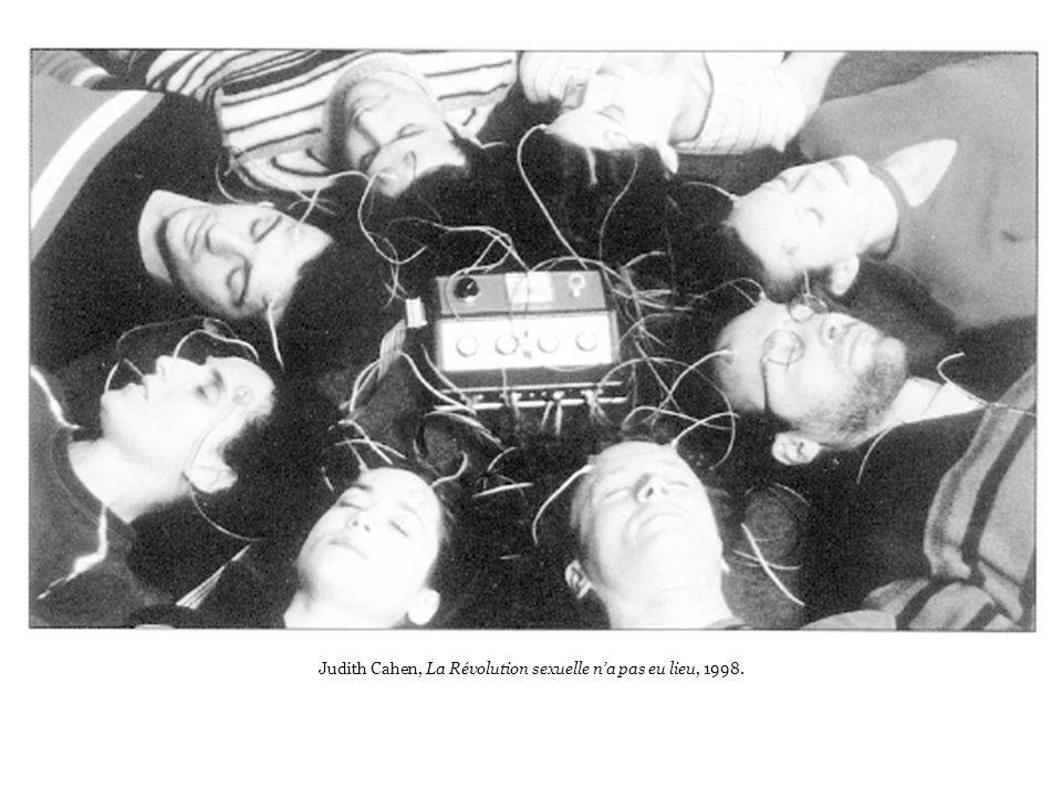 Judith Cahen, La Révolution sexuelle na pas eu lieu, 1998.