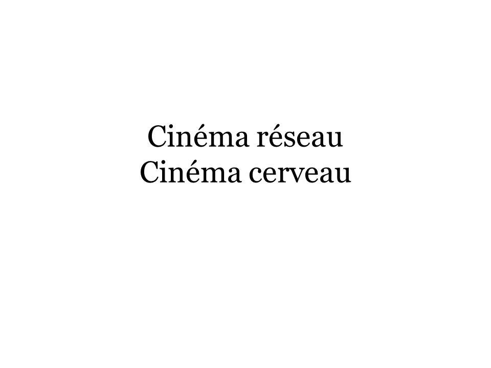 Cinéma réseau Cinéma cerveau