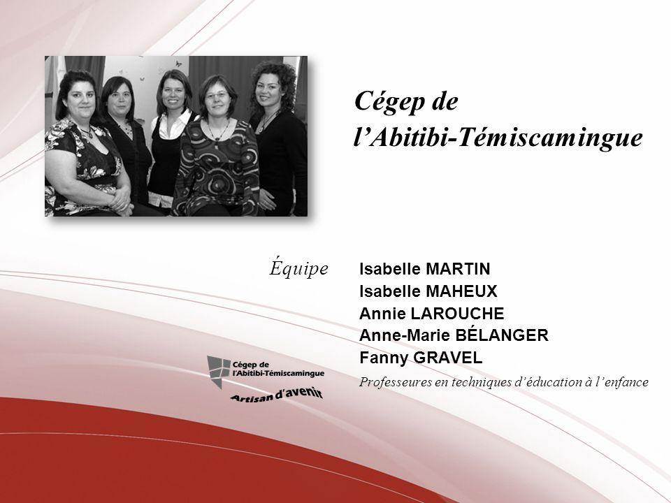 Cégep de Sept-Îles Martine LAVOIE Professeure déducation physique
