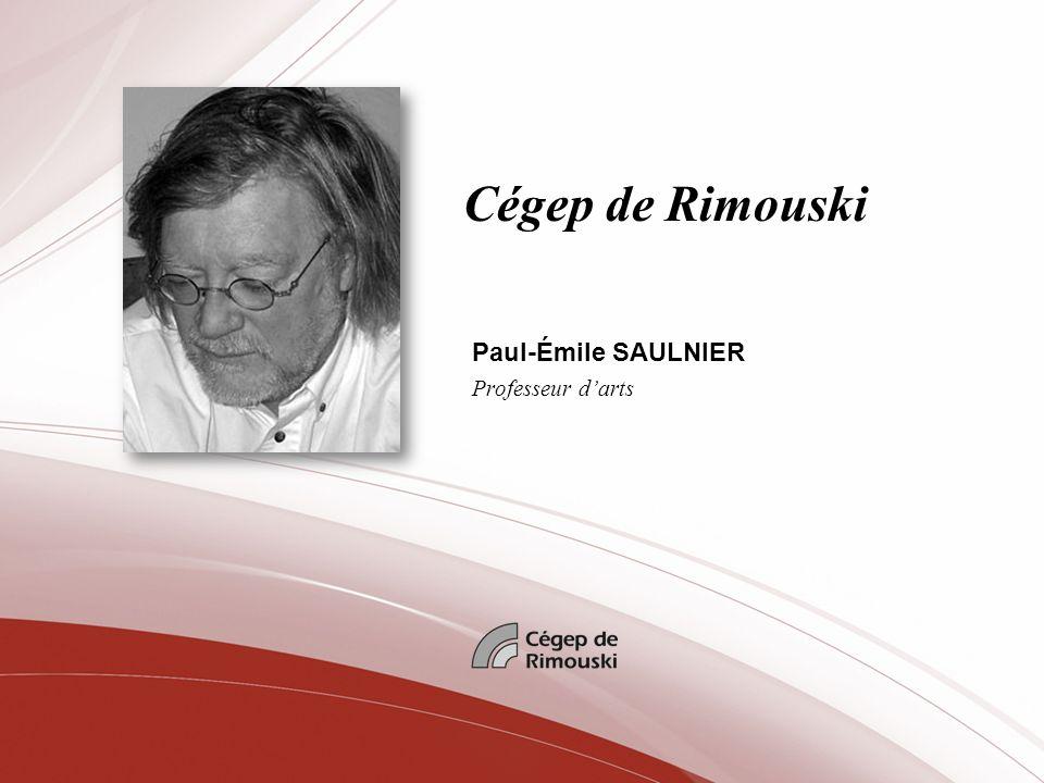 Cégep de Rimouski Paul-Émile SAULNIER Professeur darts