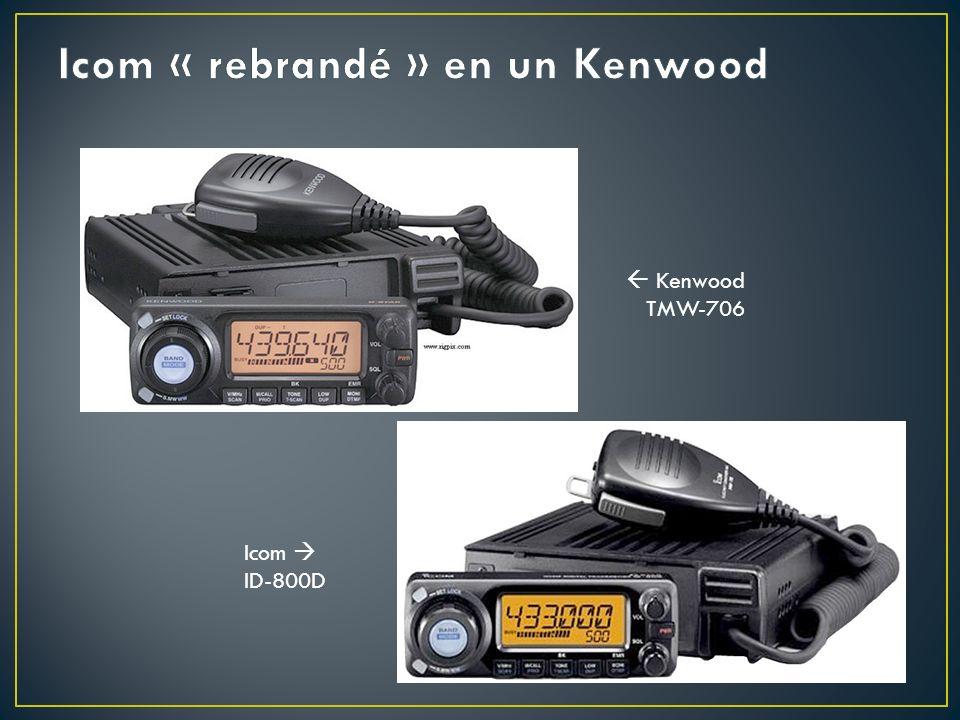 Kenwood TMW-706 Icom ID-800D