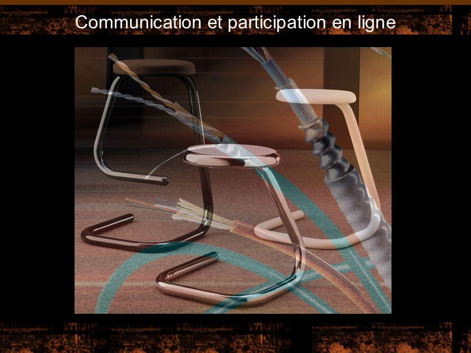 Communication et participation en ligne