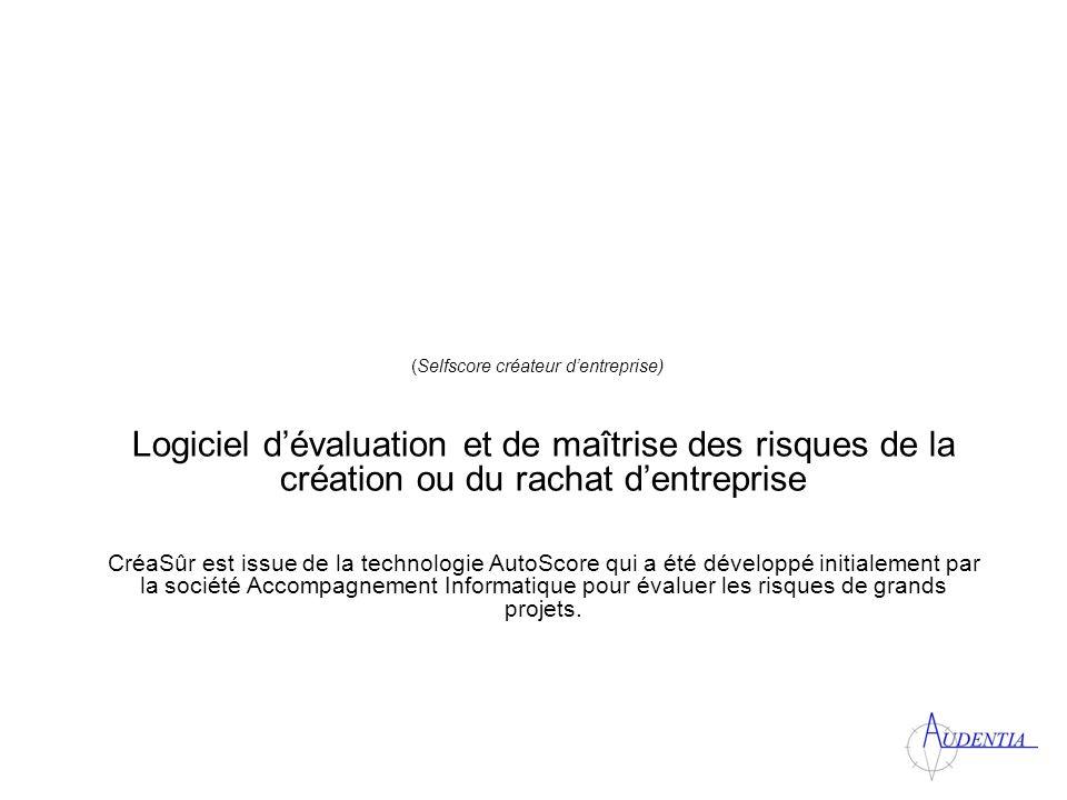 Des écrans simples et complets Toutes les typologies de projet disponibles selon la classification INSEE