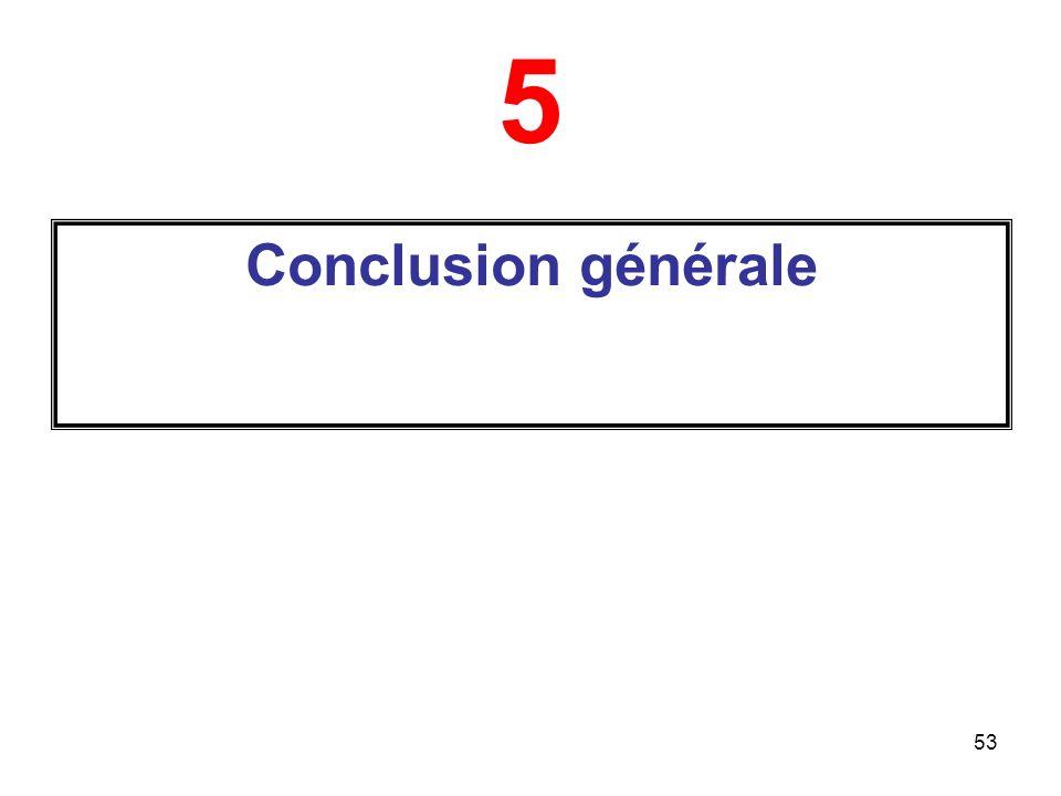 53 5 Conclusion générale